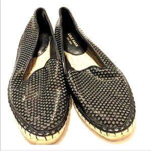 Cole Haan Black Slip on Sneaker Size 7B